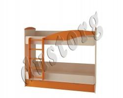 Двухъярусная кровать OYBER оранжевая