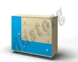 Детская мебель Алёшка Комод (синий)