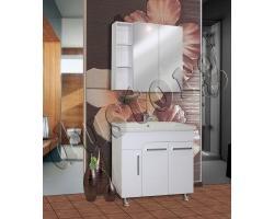 Комплект мебели в ванную Сомо 800