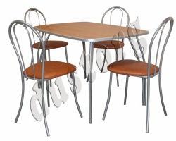 Стол и стулья для кухни Венский