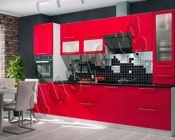 Кухня Мария (Красный глянец)