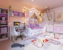 Мебель для детской комнаты РОКСИ