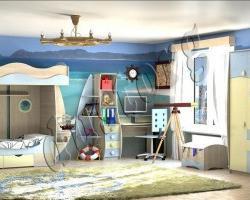 Детская мебель для мальчика Юнга МДФ