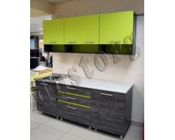Модульная кухня для хрущевок Марсела лайм