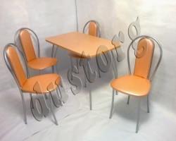 Стол и стулья для кухни Венский-М
