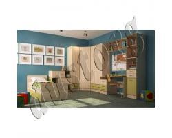 Детская мебель Скейт-3 лён