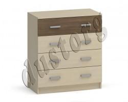 Детская мебель Аист Комод (4 ящика)