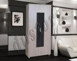 Шкаф для одежды Космо с глянцевым стеклом 900*450