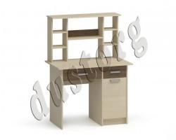 Детская мебель Аист Письменный стол с надстройкой