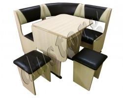 Кухонный уголок Горизонт-2 Мини и стол Горизонт-1