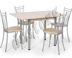 Стол и стулья для кухни ГРАНД