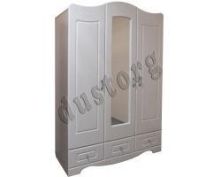Шкаф для одежды и белья трехстворчатый