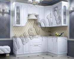Модульная кухня Белое Золото