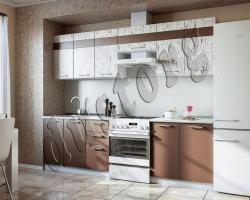 Кухонный гарнитур АРТ Шоколад