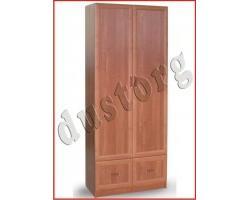Шкаф для одежды и белья в рамочном профиле с 2 ящиками (0,8м)