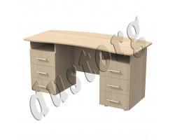 Офисная мебель Письменный стол -3 (двухтумбовый) Акцент