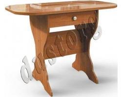 Кухонный стол с ящиком (столешница термопластик)