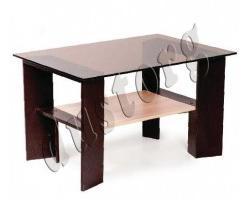 Журнальный столик стеклянный Рим-1
