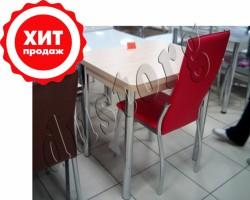 Стол обеденный поворотно-раскладной Горизонт-2