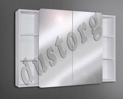 Шкаф зеркальный Сомо 1000