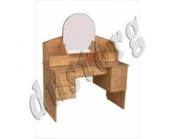 Дамский столик из натурального дерева