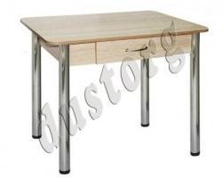 Стол обеденный с ящиком Люкс-2