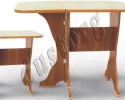 Кухонный стол СКР-1 (столешница термо-пластик)