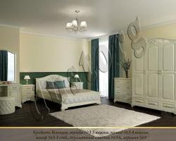 Кровать массив Венеция