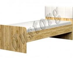 Кровать Лего 850 с мягкой спинкой 800*1900