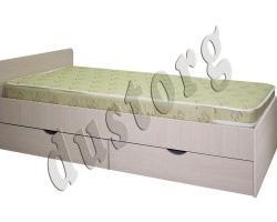 Кровать односпальная с ящиками Дустер 2+2