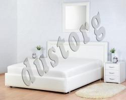 Кровать двуспальная Байон экокожа.