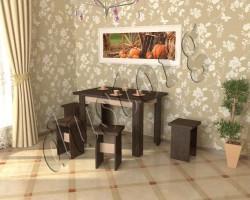 Стол и стулья для кухни Вэлком