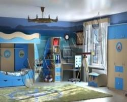 Детская мебель для мальчика  Юнга