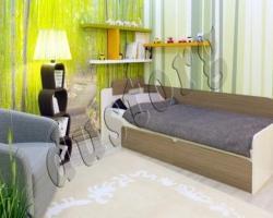 Детская мебель Скейт Кровать 800 с ящиками