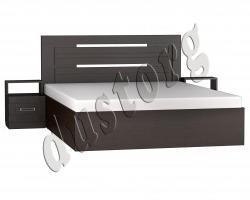 Кровать Марокко 1,6 Шимо светлый или Венге