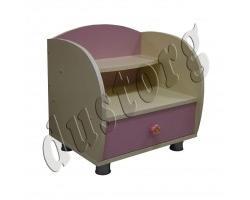 Детская мебель для девочки Настя Тумба прикроватная