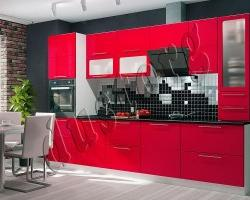 Модульная кухня Мария (Красный глянец)