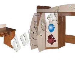 Детская мебель Алёшка с фотопечатью (+ стол)