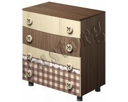 Детская мебель Алиса Комод для одежды и белья с фотопечатью