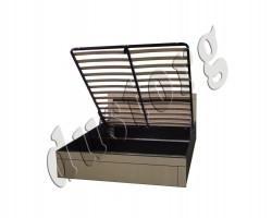 Кровать двуспальная Клеопатра с подъемным ортопедическим основанием