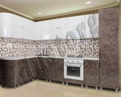 Модульная кухня Пластик (фасады из высокоглянцевого пластика)