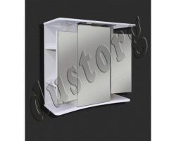 Зеркало в ванную Шкаф зеркальный Кензо 750  (розетка+спот)