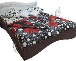 Кровать двуспальная Селена с ортопедическим основанием