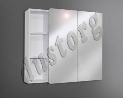 Шкаф зеркальный Сомо 800