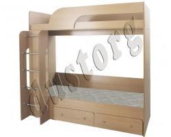 Двухъярусная кровать Катюша