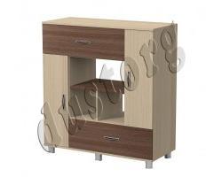 Детская мебель Алёшка Стеллаж-1 для книг и игрушек