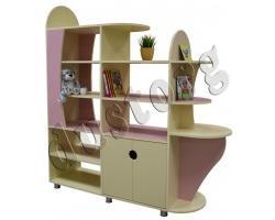 Детская мебель для девочки Настя Стеллаж