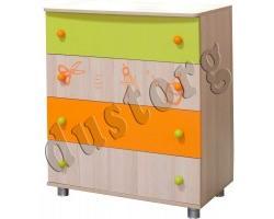 Детская мебель Незнайка Комод