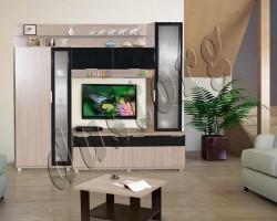 Стенка в гостиную Largo Siti (+шкаф)