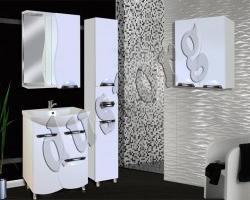Мебель для ванной Кензо-3 600 (белый)